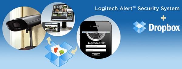 Logitech Alert Video Security Dropbox