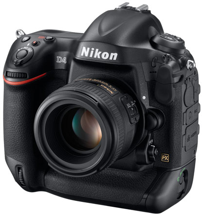 Nikon D4 DSLR