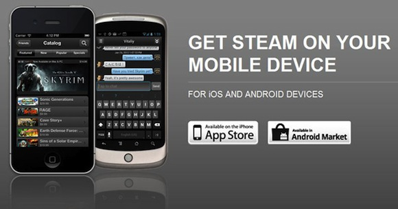 Steam Mobile App for iOS and Android