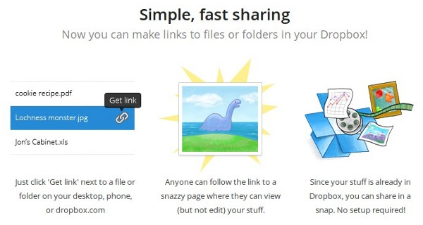 Dropbox simplifies sharing with file viewer