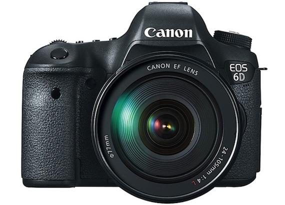 EOS 6D Digital SLR Camera
