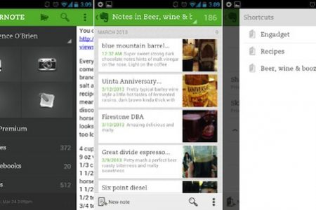 Evernote 5 for Android