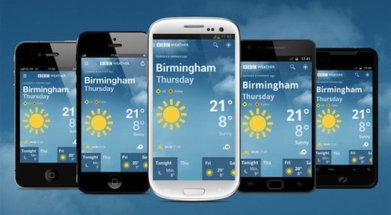 BBC announces weather app