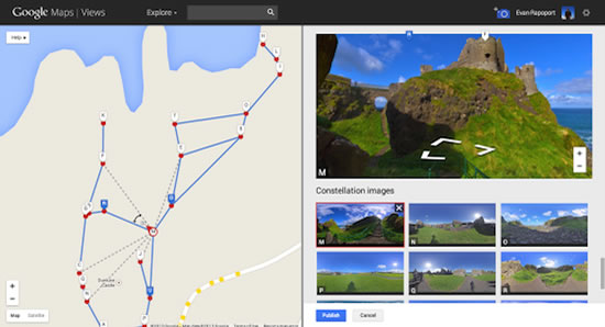 own Google Street View