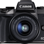 Canon EOS M5 Announced