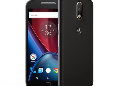 Motorola Moto G4 Plus Smartphone