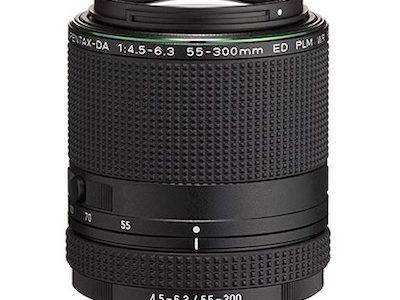 Pentax-DA 55-300MM F4.5-6.3 ED PLM WR RE Lens