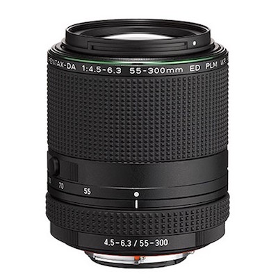 Pentax-DA 55-300MM F4.5-6.3 ED PLM WR RE Lens