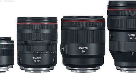 Canon RF Mount Lenses