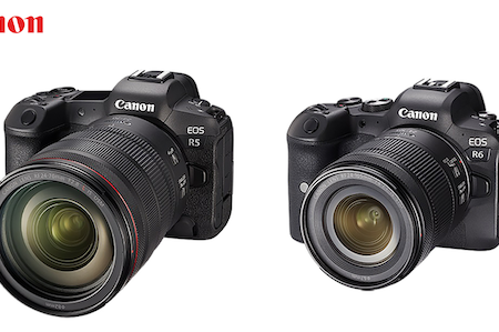 Canon Unveils EOS R5 and EOS R6