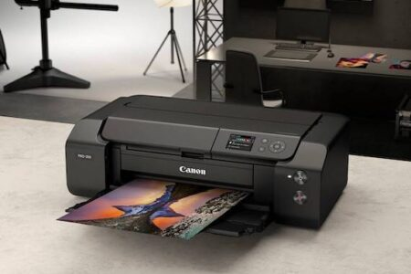 Canon Launch imagePROGRAF PRO-300 A3+ Printer
