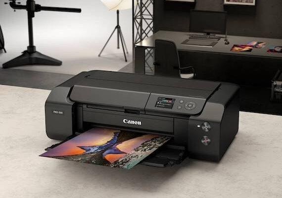 Canon Launch imagePROGRAF PRO-300 A3+ Printer
